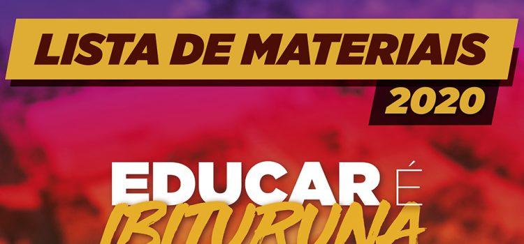 Confira a Lista de Material Escolar – EM