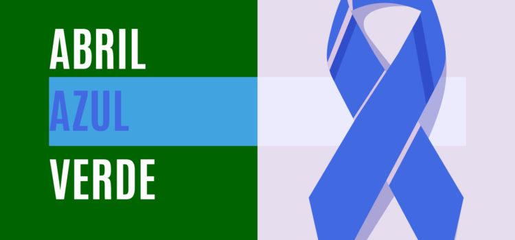 Azul e Verde são as cores de Abril