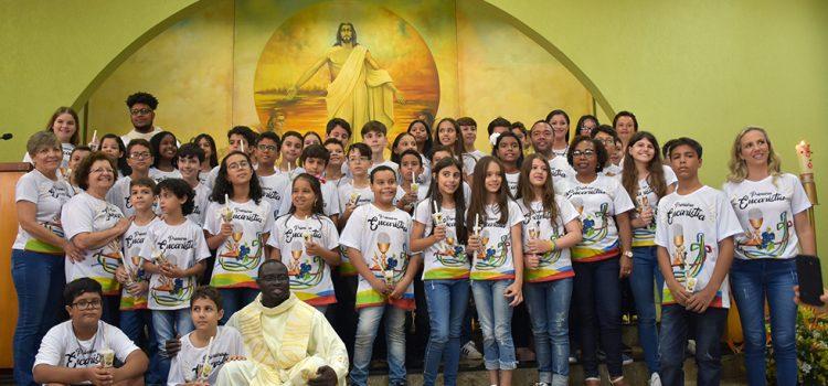 Primeira Eucaristia – Movimento Calasanz do Colégio Ibituruna