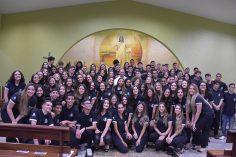 Ação de Graças da 3ª série do Colégio Ibituruna
